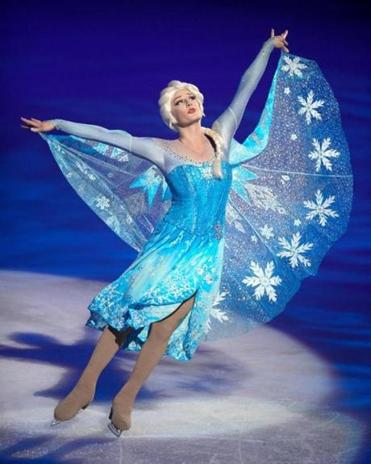 "Elsa from ""Frozen"" is among the performers in ""Dare to Dream."""